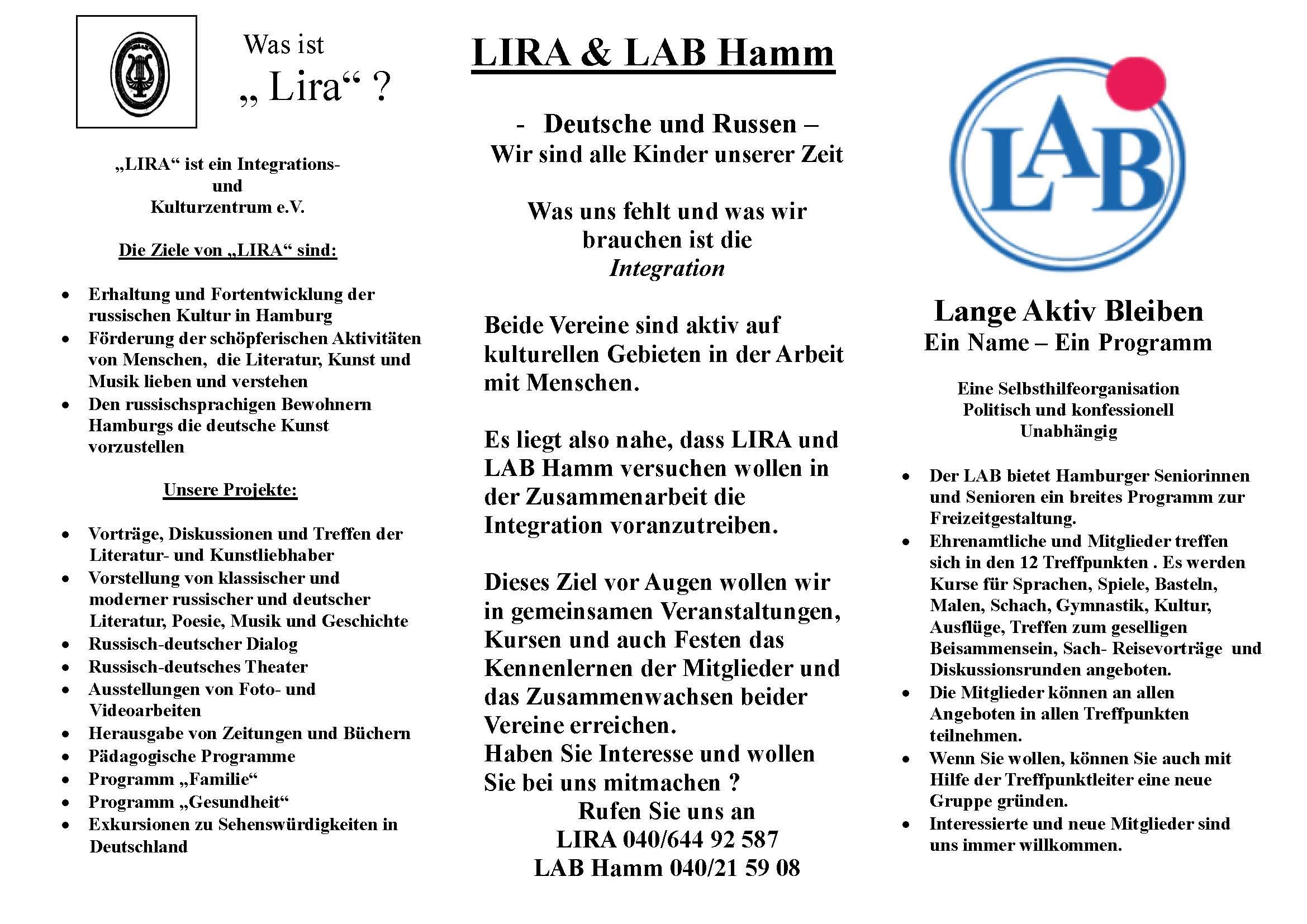 Flyer LIRA-LAB Deutsch 2